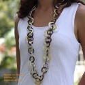Natural horn necklace - Model 0024