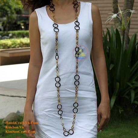 Natural horn necklace - Model 0025
