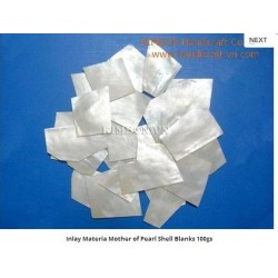 Inlay Materia Mother of Pearl Shell Blanks 100gs