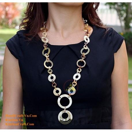 Природные ожерелье рог - Модель 0029