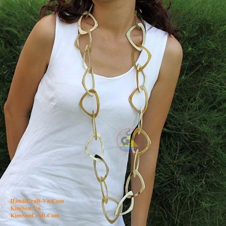Природные ожерелье рог - Модель 0030
