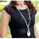 Природные ожерелье рог - Модель 0031