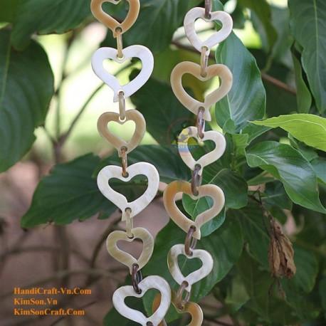 Природные ожерелье рог - Модель 0034