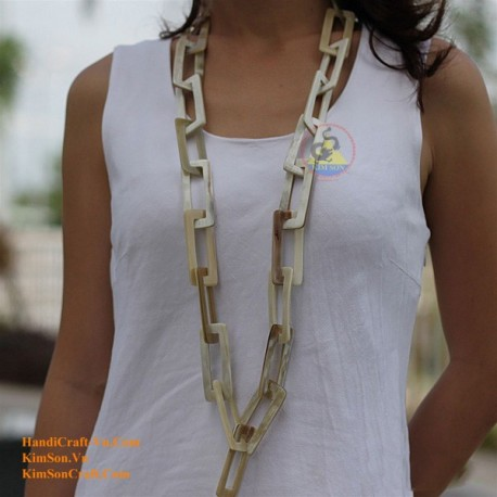 Natural horn necklace - Model 0036