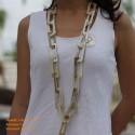 Природные ожерелье рог - Модель 0036
