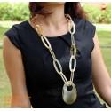 Природные ожерелье рог - Модель 0038