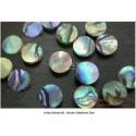 Inlay Material - grüne Abalone Dot
