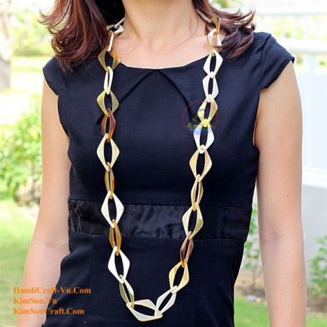 Природные ожерелье рог - Модель 0039