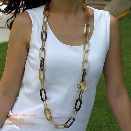 Природные ожерелье рог - Модель 0040