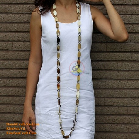 Природные ожерелье рог - Модель 0042