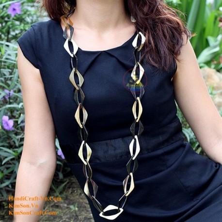 Природные ожерелье рог - Модель 0043