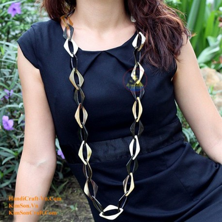 Natural horn necklace - Model 0043