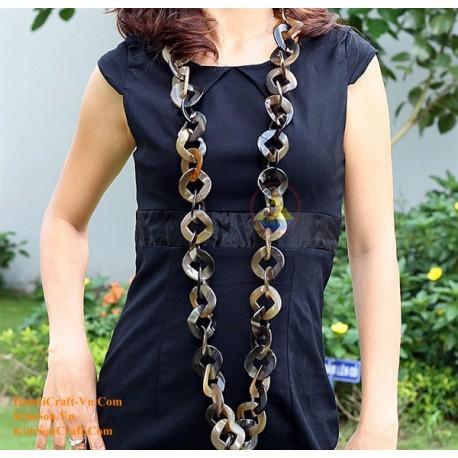 Природные ожерелье рог - Модель 0046