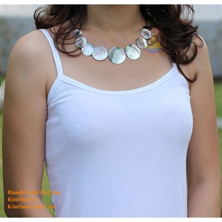 Exquisite Mother of Pearl Necklace - Model 0047