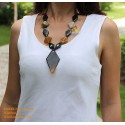 Natural horn necklace - Model 0049