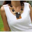 Природные ожерелье рог - Модель 0053