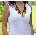 Natural horn necklace - Model 0054