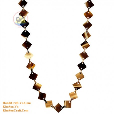 Природные ожерелье рог - Модель 0057