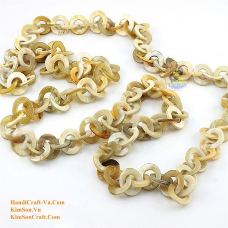 Natural horn necklace - Model 0058