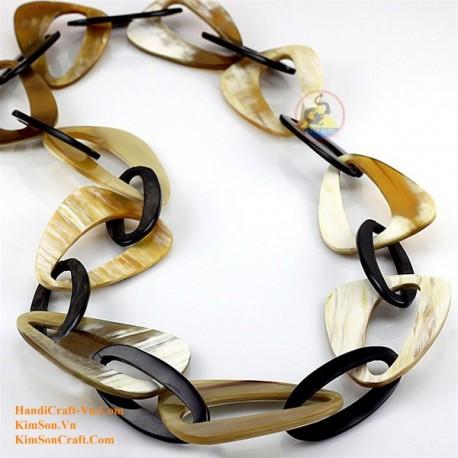 Природные ожерелье рог - Модель 0059