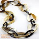 Natural horn necklace - Model 0059
