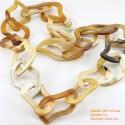 Природные ожерелье рог - Модель 0060
