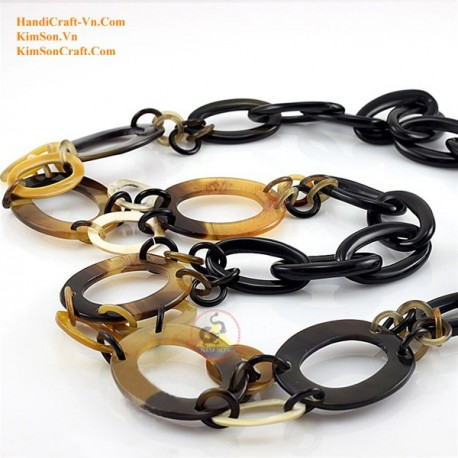 Natural horn necklace - Model 0061