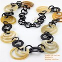 Natural horn necklace - Model 0062