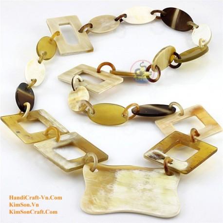 Природные ожерелье рог - Модель 0063