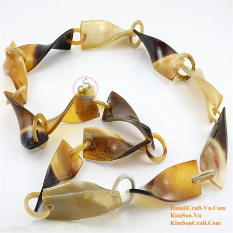 Природные ожерелье рог - Модель 0064