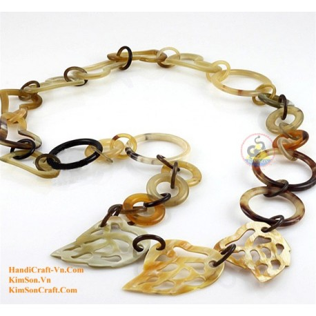 Natural horn necklace - Model 0065