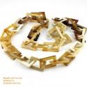 Природные ожерелье рог - Модель 0066