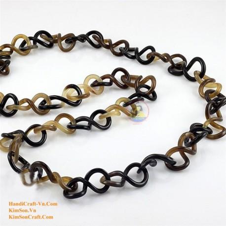 Природные ожерелье рог - Модель 0067