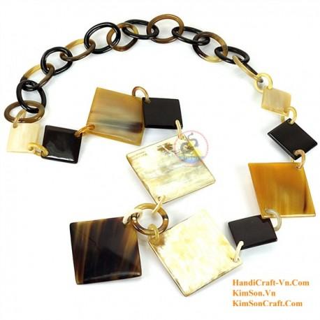 Природные ожерелье рог - Модель 0071