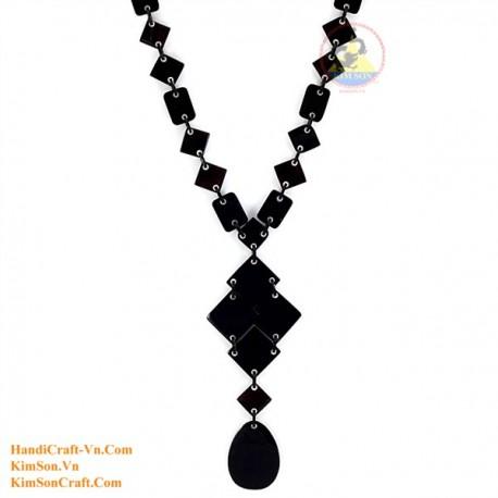 Природные ожерелье рог - Модель 0073