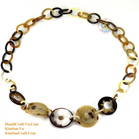 Natural horn necklace - Model 0074
