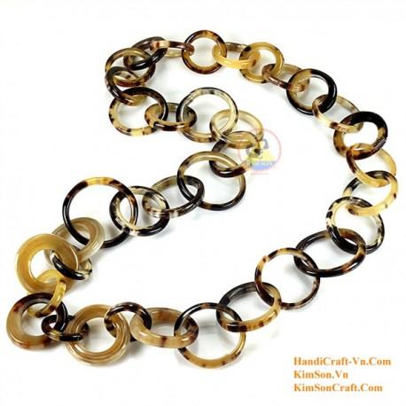 Природные ожерелье рог - Модель 0075