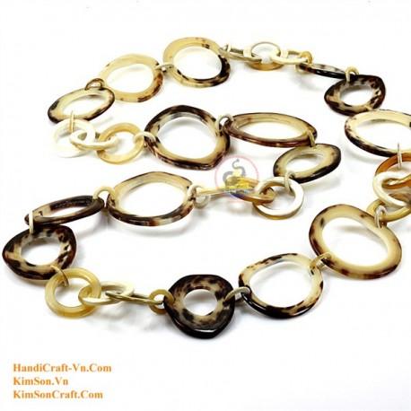 Природные ожерелье рог - Модель 0077