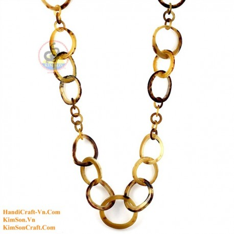 Природные ожерелье рог - Модель 0078