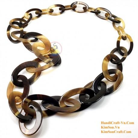 Природные ожерелье рог - Модель 0079
