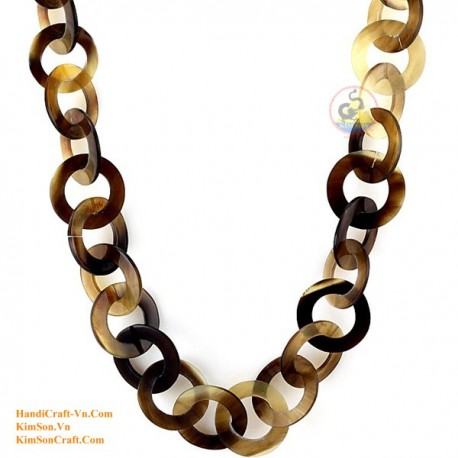 Natural horn necklace - Model 0081