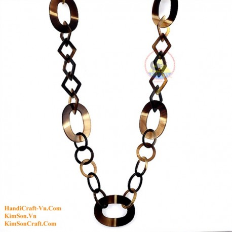 Natural horn necklace - Model 0083