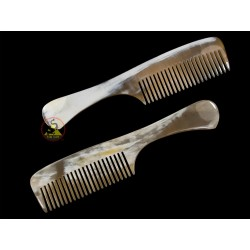 Real Horn Comb - With Big Handle - 21 x 4.5 cm - 8.26 x 1.77 Inch