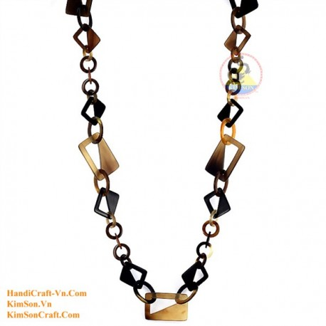 Natural horn necklace - Model 0084
