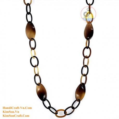 Природные ожерелье рог - Модель 0087