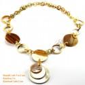Природные ожерелье рог - Модель 0089