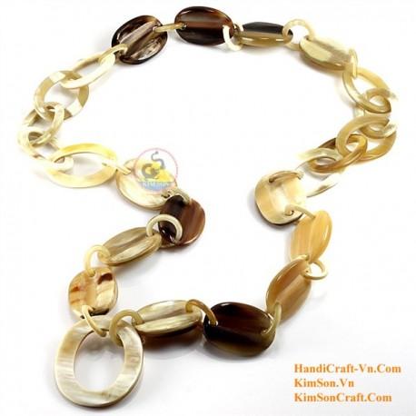 Natural horn necklace - Model 0091