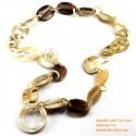 Naturhorn Halskette - Modell-0091