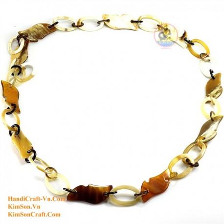 Природные ожерелье рог - Модель 0092