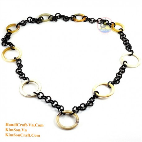 Природные ожерелье рог - Модель 0094